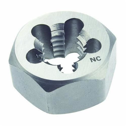 MARXMAN™ 126QI Hexagon Rethreading Die, Imperial, 7/16-14 UNC, Carbon Steel