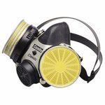 MSA 808071 MSA Comfo Classic® 808071 Standard Half Mask Respirator, M, Cradle, Black