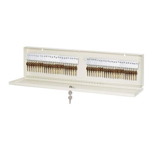 Master Lock® 7123D Heavy Duty Keyed Different Key Cabinet, 48 Keys, 7-1/2 in OAH x 28-3/4 in OAW x 1-3/4 in OAD