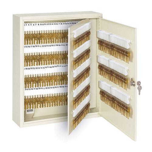 Master Lock® 7128D Heavy Duty Keyed Different Key Cabinet, 330 Keys, 20 in OAH x 16-1/2 in OAW x 5 in OAD