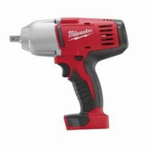 Milwaukee M18 2662-20 Cordless Impact Wrench With Pin Detent, 1/2 in Straight Drive, 0 to 2200 bpm, 450 ft-lb Torque, 18 VDC, 8-7/8 in OAL