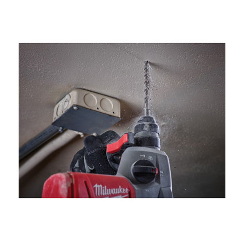 Milwaukee® Magnum® Rotary Hammer Drill Bit Set, 5 Pieces, 2-Cutter, SDS Plus Shank, Carbide