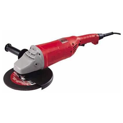 Milwaukee® 6086 Electric Angle Grinder With Lock Ball Bearing, 7 in Wheel, 5/8-11, 120 VAC/DC (Bare Tool)
