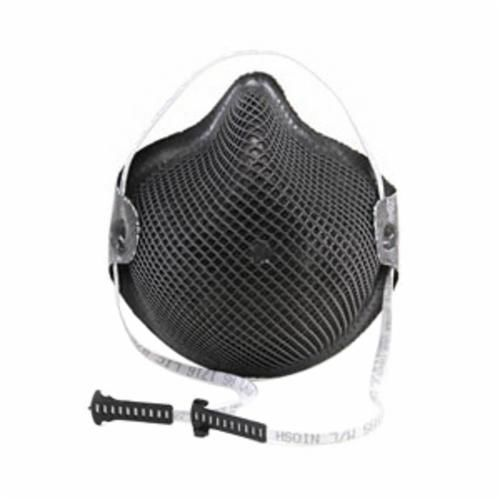 Moldex® M2601N95 Particulate Respirator With Ventex® Valve, S, N95, 95%, Black