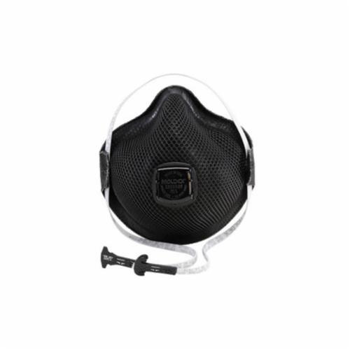 Moldex® M2800N95 Particulate Respirator With Ventex® Valve, M/L, N95, 95%, Black