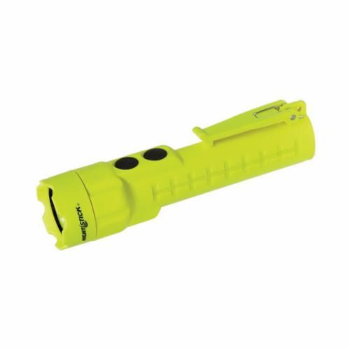 NightStick® XPP-5422G Intrinsically Safe Permissible Dual-Light Flashlight,. LED Bulb, Polymer