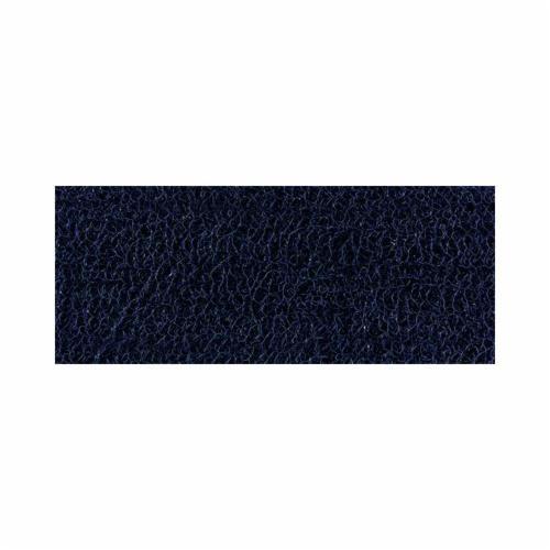 Nomad™ 6050 Backed Medium Traffic Scrapper Matting, 3 ft W x 5 ft L, 1 in THK, Dark Blue, Vinyl