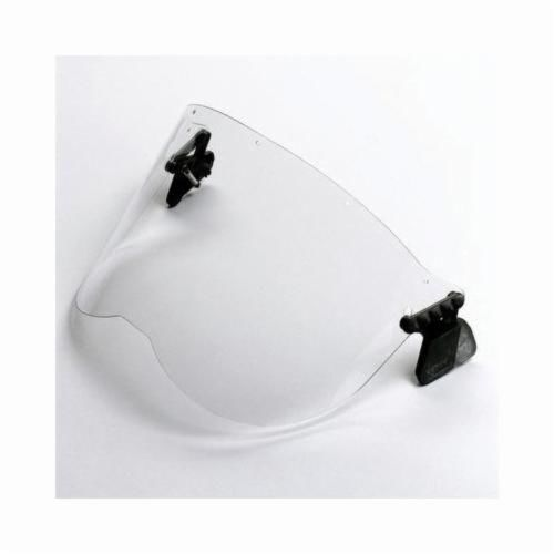 Peltor™ 093045-93619 Anti-Glare Faceshield, For Use With P3EV/2 Hard Hat Adapter and Cap-Mounted Earmuffs, Green, X