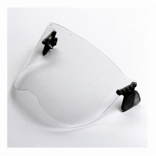 Peltor™ 093045-93622 Faceshield, For Use With P3EV/2 Hard Hat Adapter and Cap-Mounted Earmuffs, Clear, Acetate, X