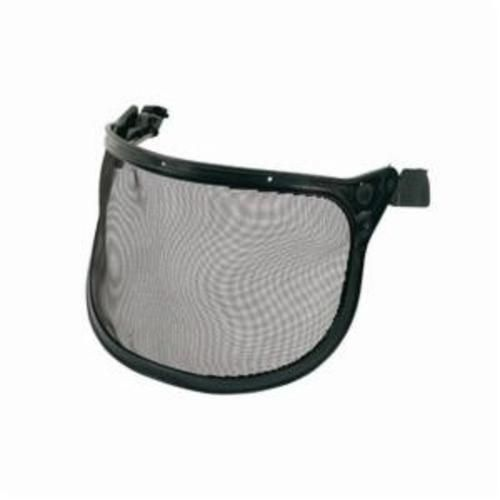 Peltor™ 093045-93623 Faceshield System, For Use With Hard Hats or Peltor™ Muffs, Black, Steel Mesh, 6-1/2 in H X