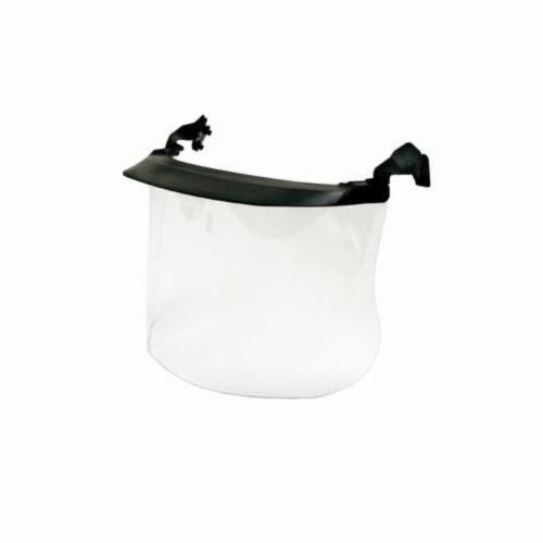 Peltor™ 093045-93625 Faceshield System, For Use With P3EV/2 Hard Hat Adapter and Cap-Mounted Earmuffs, Clear, 7 in H X