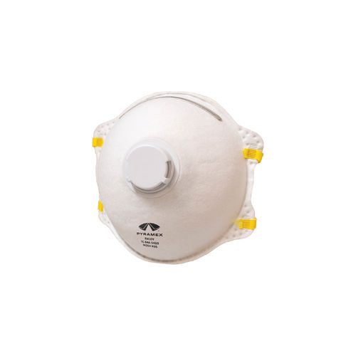 Pyramex® RM10V Disposable Cone Respirator With Exhalation Valve, Universal, 95%