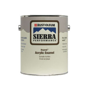 Rust-Oleum® Beyond™ S38 System Single Component Water Based Acrylic Enamel, 1 gal, Liquid, Clear, 137 to 523 sq-ft/gal