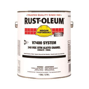 Rust-Oleum® P1600 System Single Component Plastic Paint, 16 oz, Liquid, Black, 8 to 10 sq-ft/Can