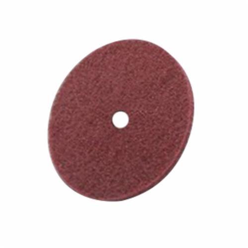 Scotch-Brite™ 048011-00720 Clean and Finish Disc, 10 in Dia, 1 in, Medium Grade, Aluminum Oxide Abrasive