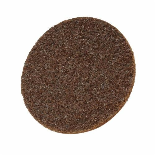 Scotch-Brite™ Hookit™ SC-DH Surface Conditioning Disc, 7 in Dia, No Hole, Coarse Grade, Aluminum Oxide Abrasive