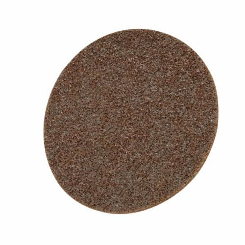 Scotch-Brite™ Hookit™ SC-DH Surface Conditioning Disc, 8 in Dia, No Hole, Coarse Grade, Aluminum Oxide Abrasive