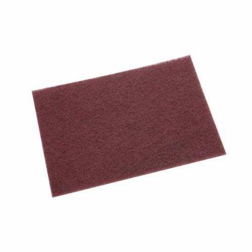 Scotch-Brite™ 7446B General Purpose Hand Pad, 9 in L x 6 in W, Very Fine Grade, Aluminum Oxide Abrasive
