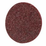 Scotch-Brite™ 048011-05531 Scotch-Brite™ Roloc™ SC Surface Conditioning Disc With Plastic Button, 3 in Dia, No Hole, Aluminum Oxide Abrasive, Maroon