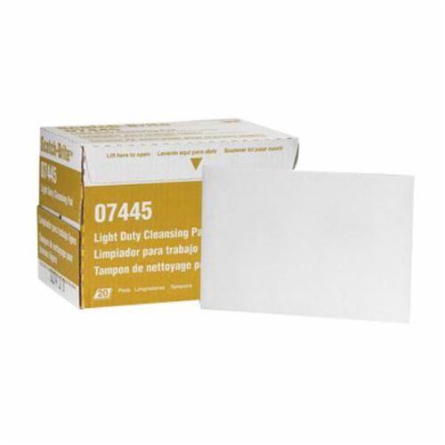 Scotch-Brite™ 7445 Hand Pad, 9 in L x 6 in W, Super Fine Grade, Aluminum Silicate Abrasive