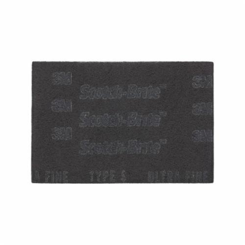 Scotch-Brite™ 7448 Hand Pad, 9 in L x 6 in W, Ultra Fine Grade, Silicon Carbide Abrasive
