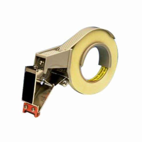 Scotch® H131 Hand Held Tape Dispenser, 5-7/16 in H x 1-3/4 in W x 7-3/4 in D, Gray, Plastic/Metal