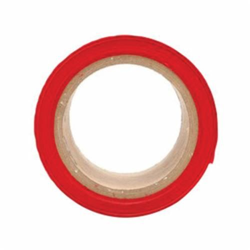 Scotch® 356 Above Ground Barricade Tape, DANGER, 300 ft Roll L x 3 in W, Red, Polyethylene Film
