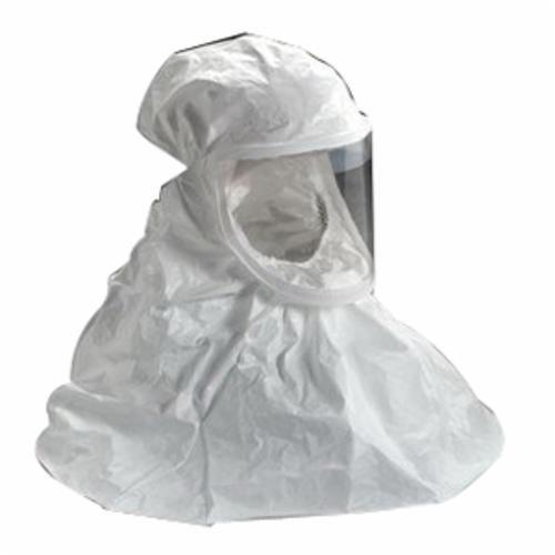 Versaflo™ BE Double Bib Respirator Hood, Tychem® QC, White