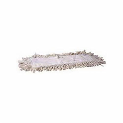 Weiler® 75117 Weiler® 75117 Tie-On Dust Mop Refill, 24 in L x 5 in W, 4-Ply Cotton