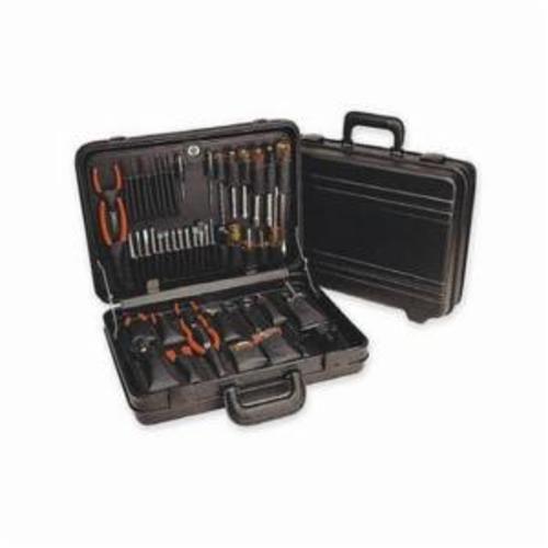 Xcelite® Series 99® TCMB150ST Attache Tool Case, 46 Pieces, Polyethylene, Black