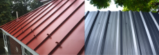 The Best Roof for Solar Panels – Roof Build Materials Standing seam metal roof vs corrugated metal.