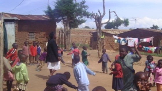 Africa direct   children playing