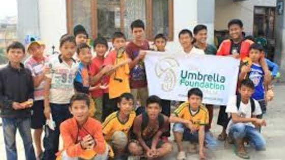 Umbrella kids
