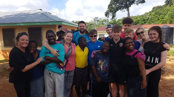 Mission trip 2017 group photo