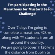 Ciara Brady's Marathon for Mustard Seed avatar