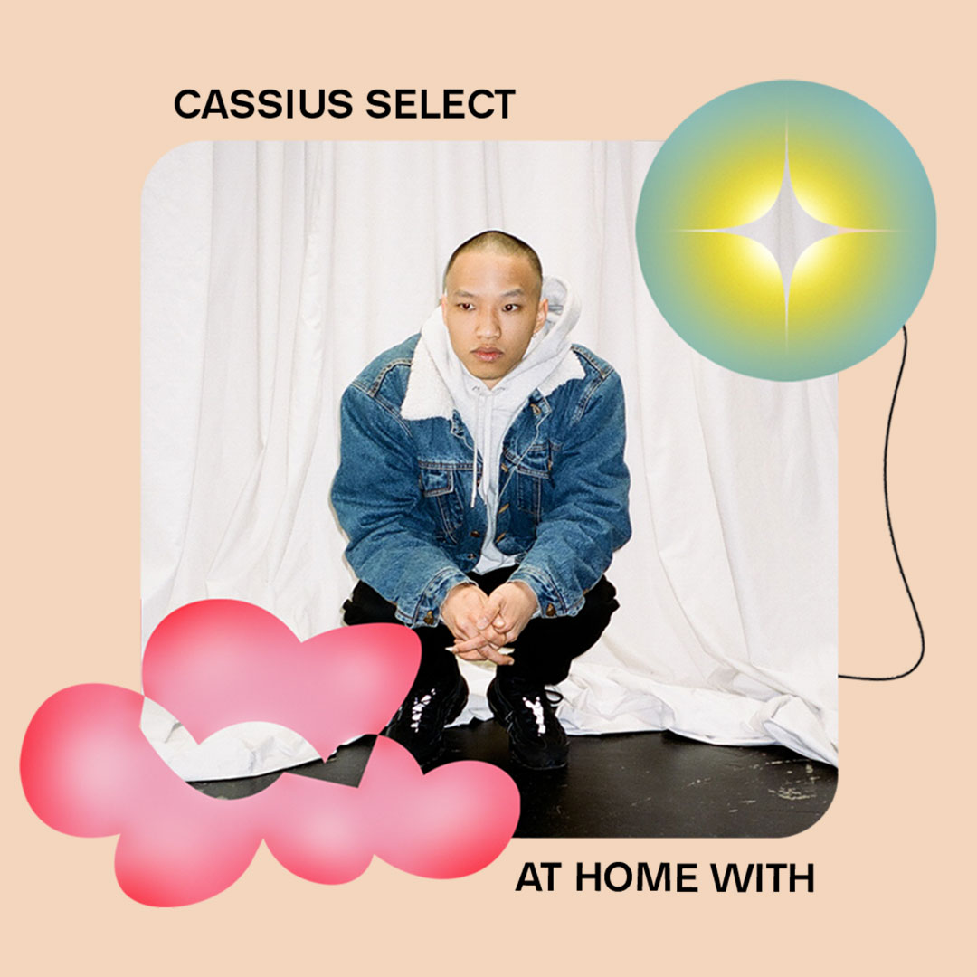 AT HOME WITH: CASSIUS SELECT