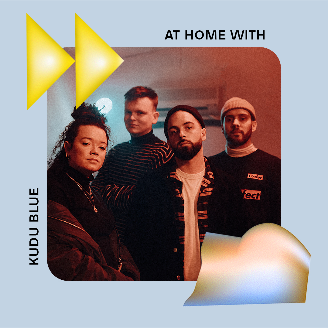 AT HOME WITH: KUDU BLUE