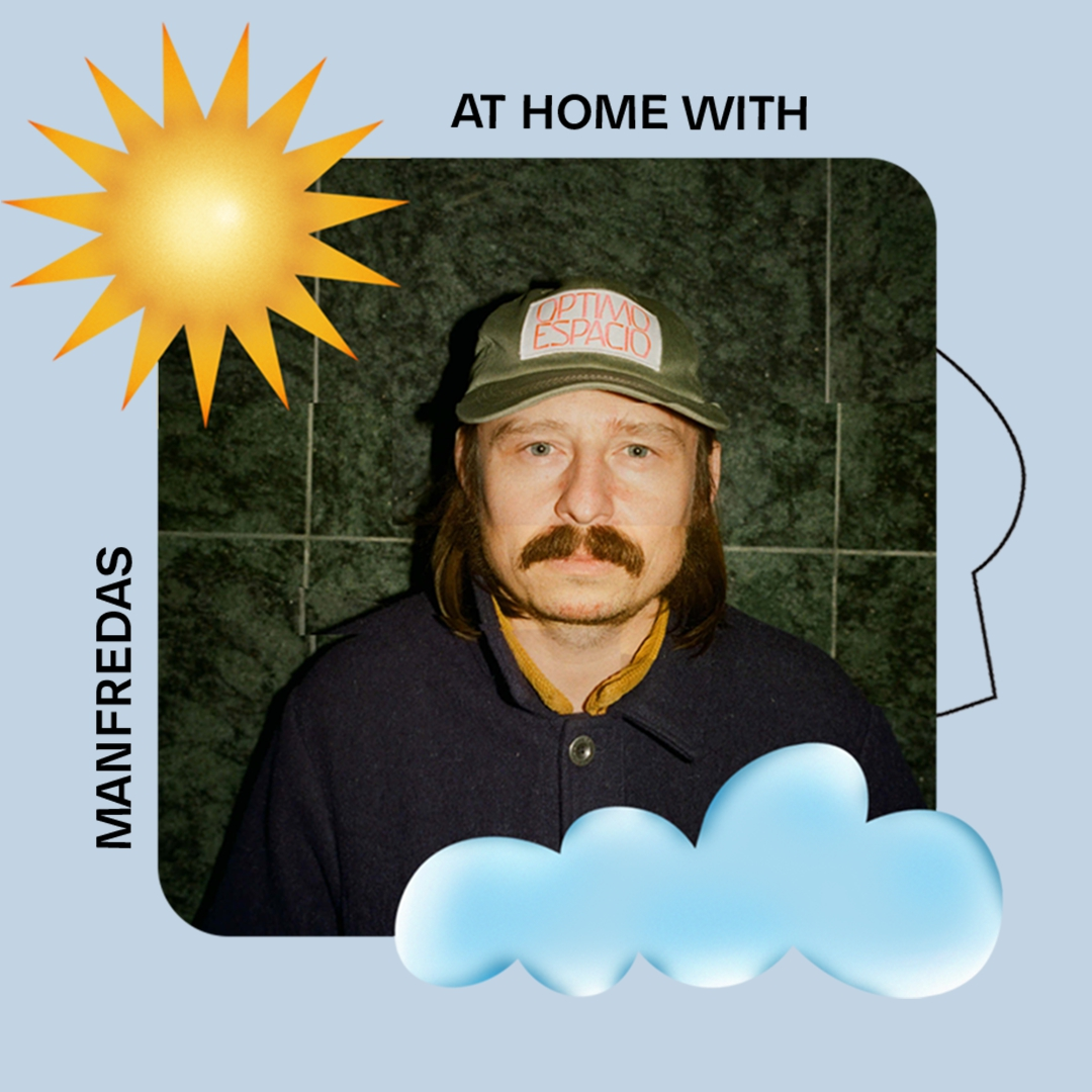 AT HOME WITH: MANFREDAS