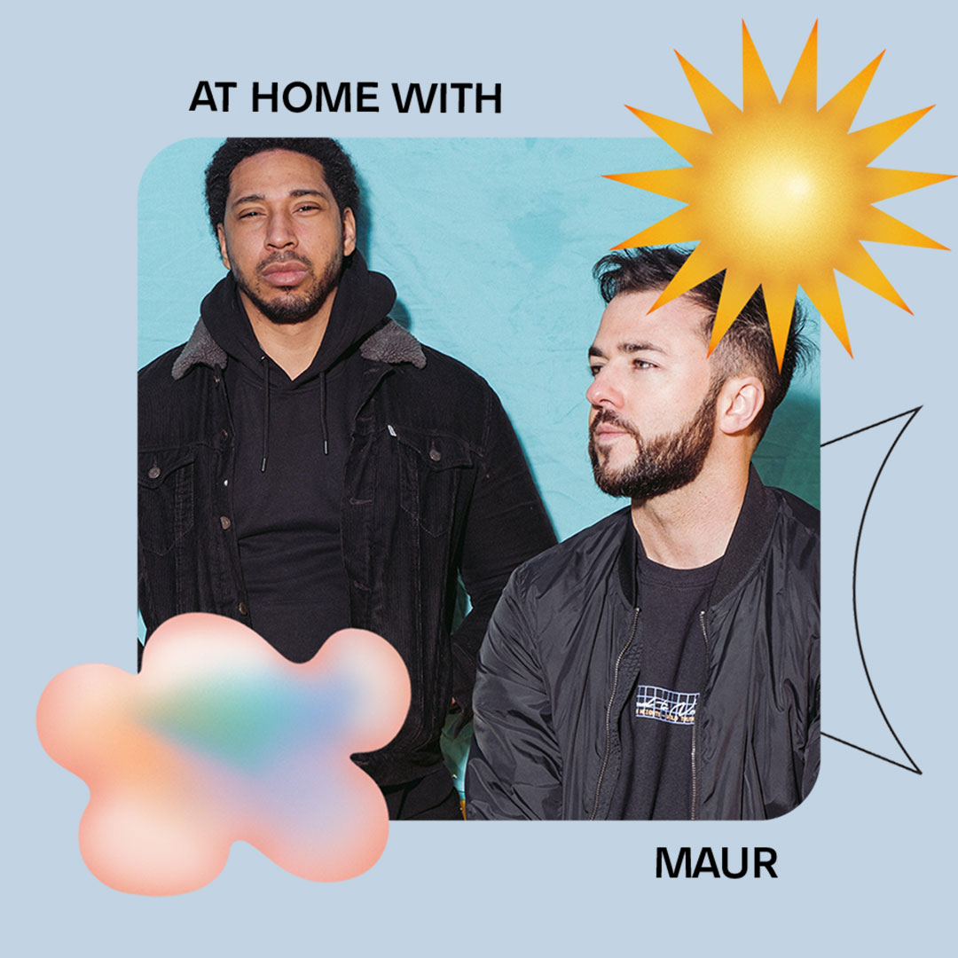 AT HOME WITH: MAUR