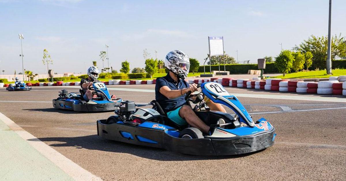 Expérience  karting