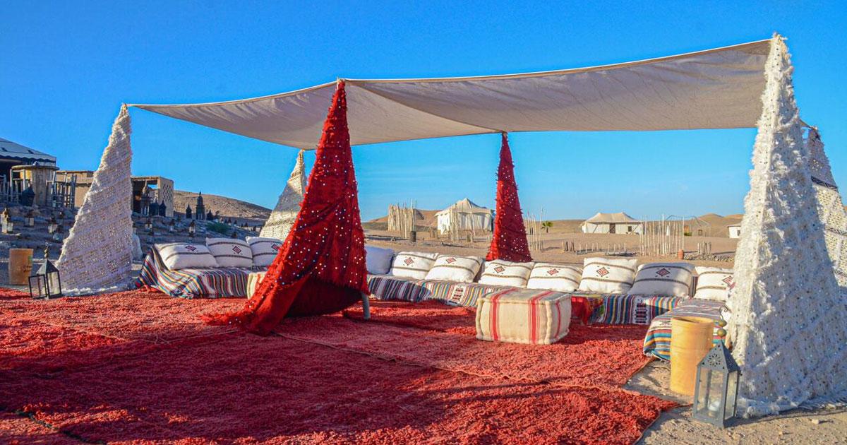 Palm Plaza & Spa Marrakech et le désert d'Agafay