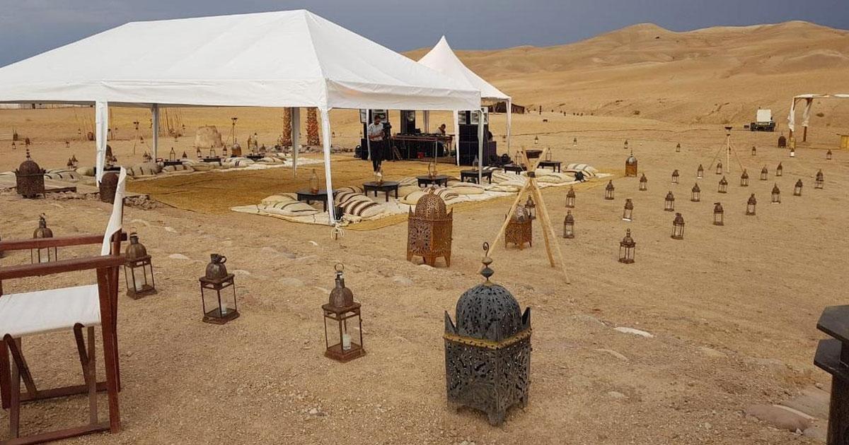 Le Radisson Blu et l'incontournable désert d'Agafay