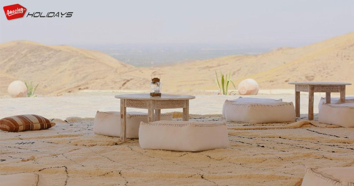 The white Camel, La magie du désert d'Agafay