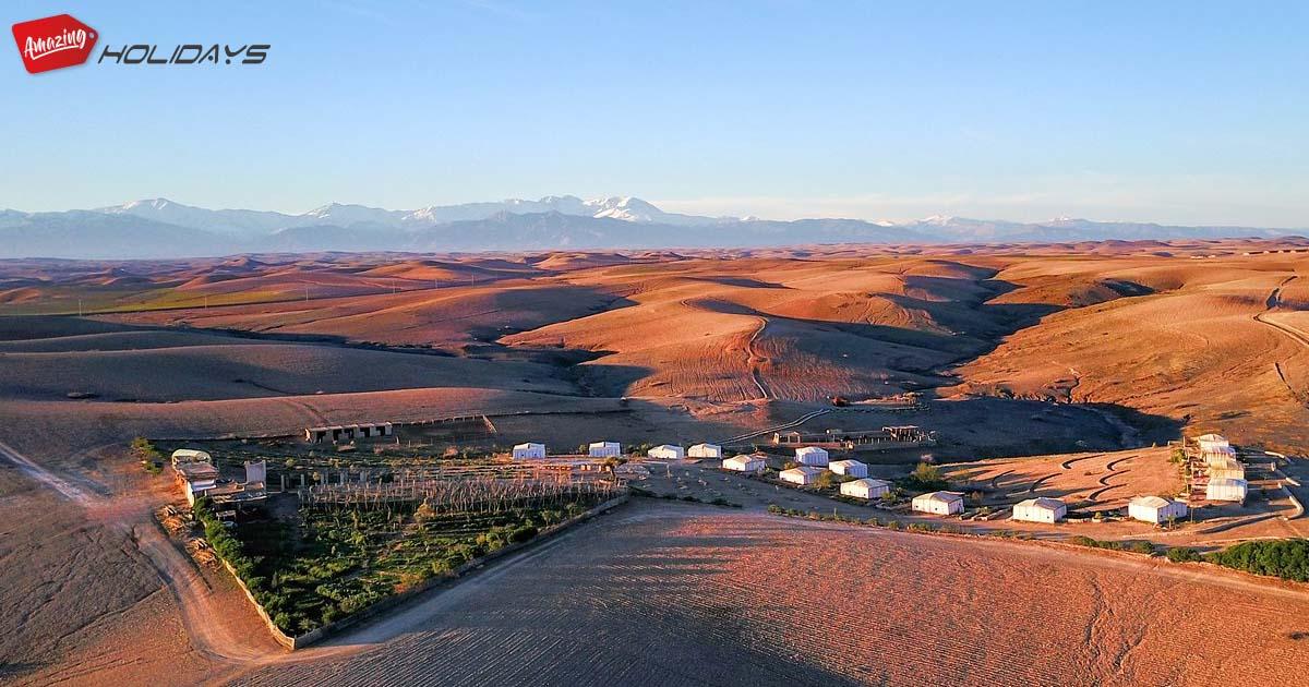Séjour unique et exceptionnel au désert d'Agafay - Terre Des Etoiles