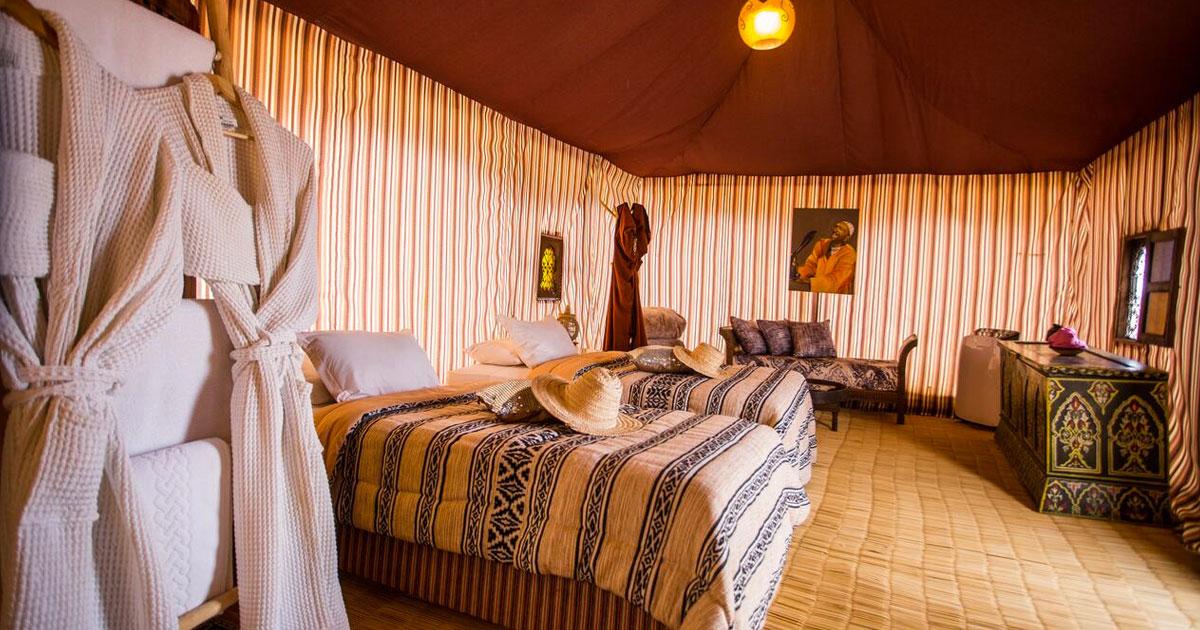 Détente et calme au cœur du désert d'Agafay - Yes We Camps