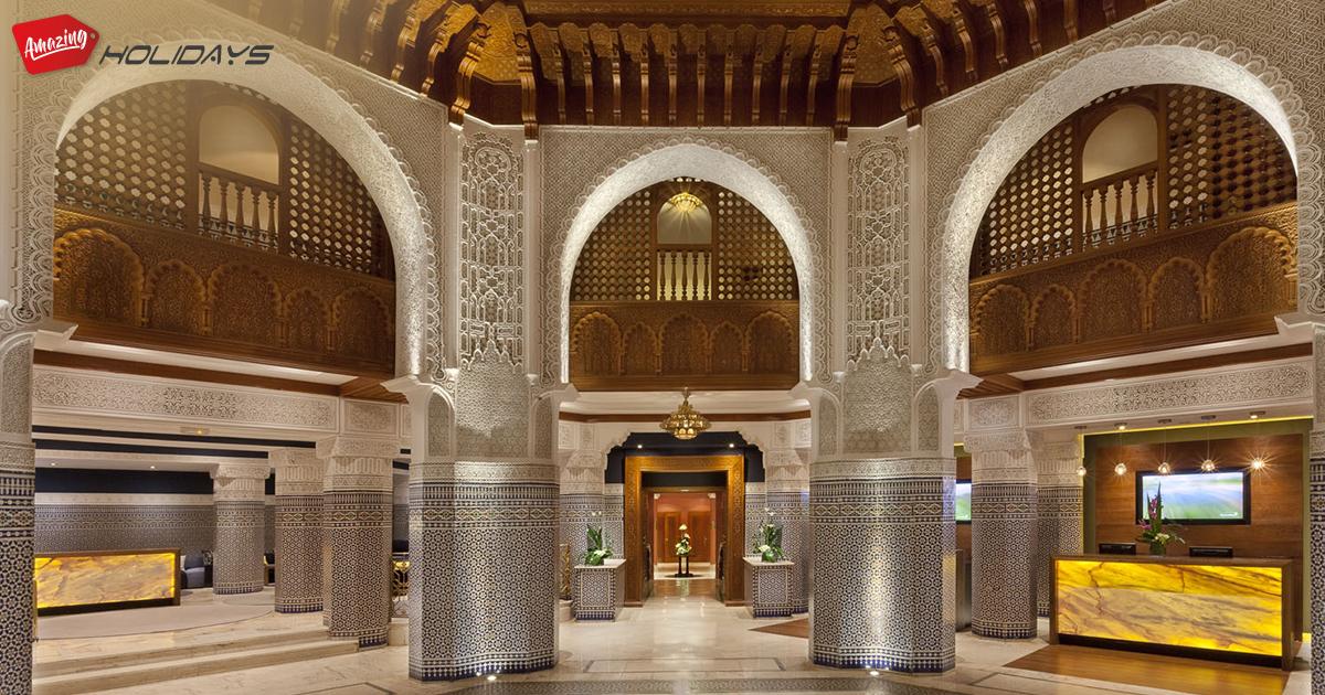 Rotana Hotel du Golf et Marrakech vue du ciel