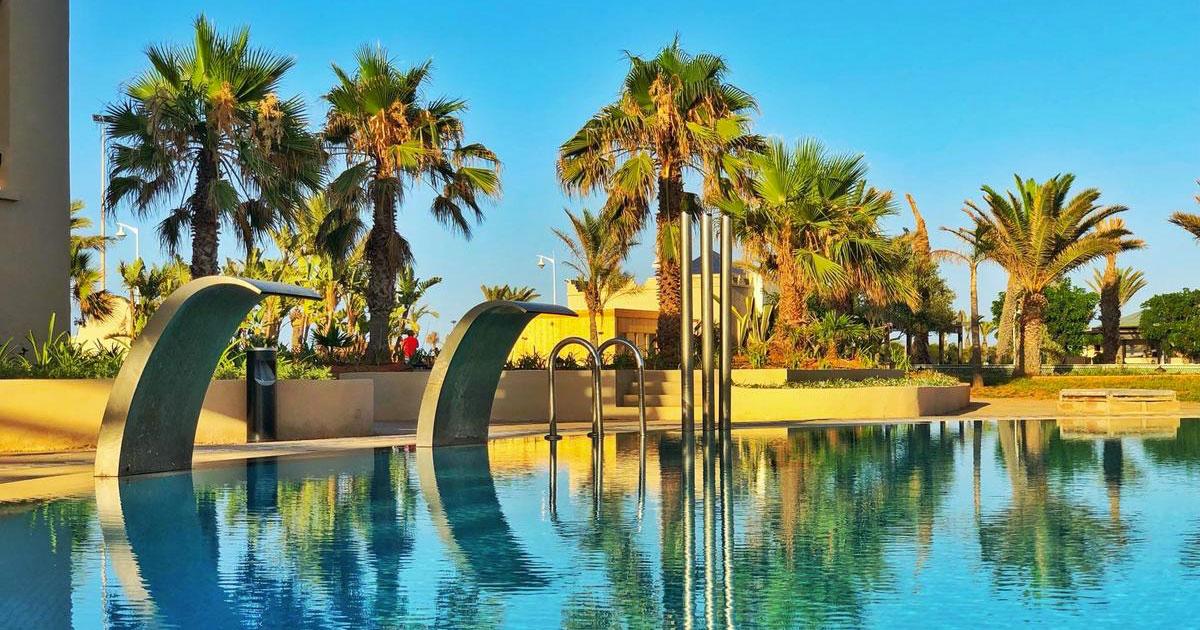 Séjour de luxe  a la perle bleueé- Oasis Saidia Palace & Blue Pearl