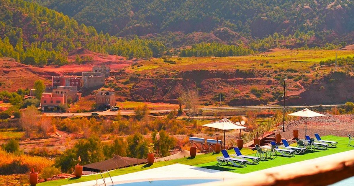 Séjour unique avec vue sur les montagnes de l'Atlas- Le complexe Panorama