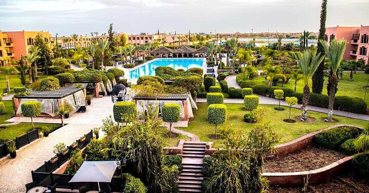 Séjour au cœur du jardin d'Eden- Kenzi Menara Palace