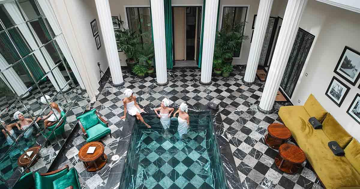 Hammam & Massage aux bains de Lotus